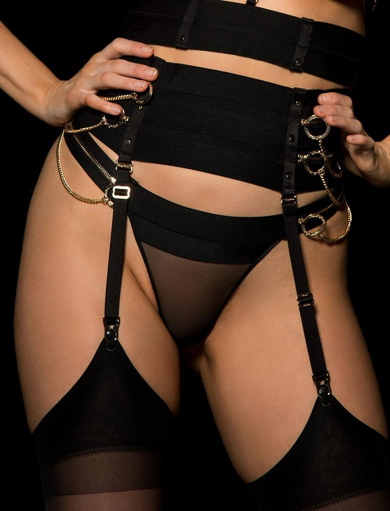 Zeppelin Suspender - Shop Lingerie | Honey Birdette