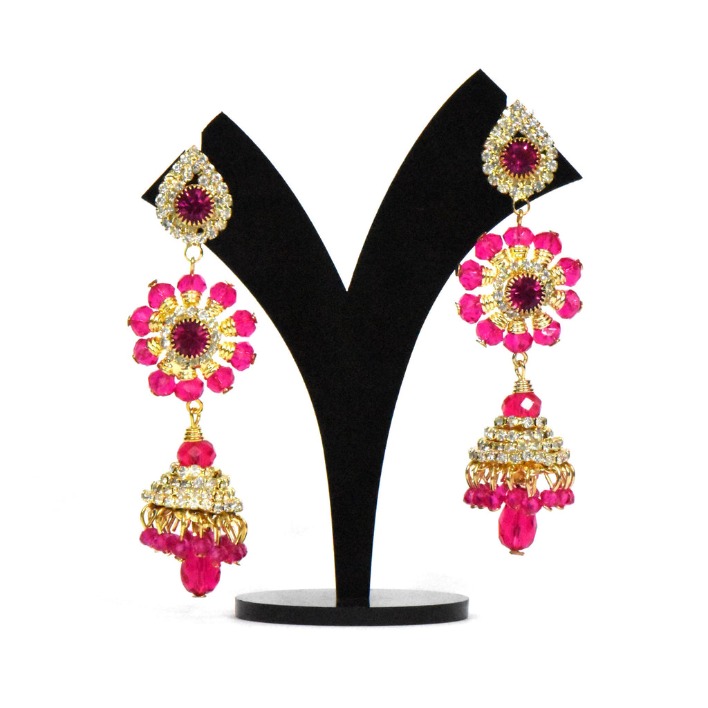 Long Jhumki Earrings