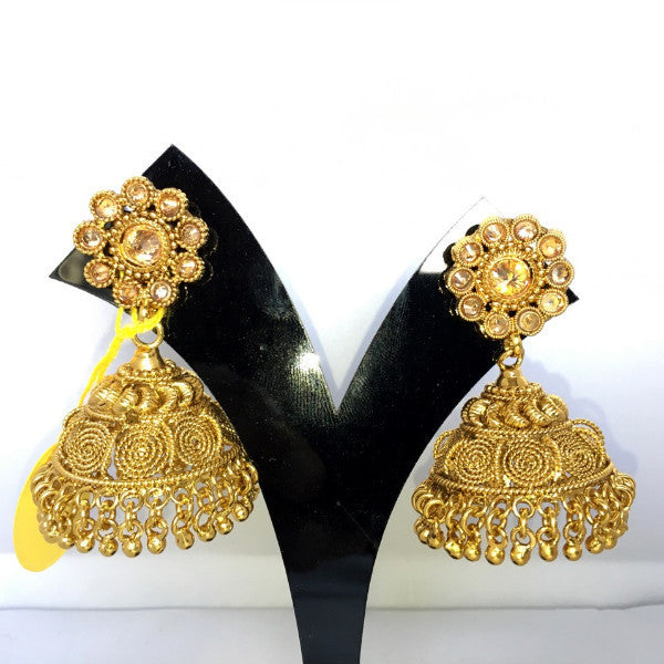 Traditional Indian Jhumka Earings