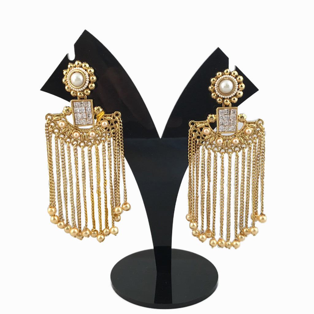 Imitation Gold Earings
