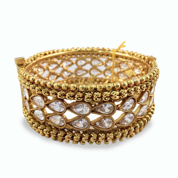 White Stone Studded Bangle