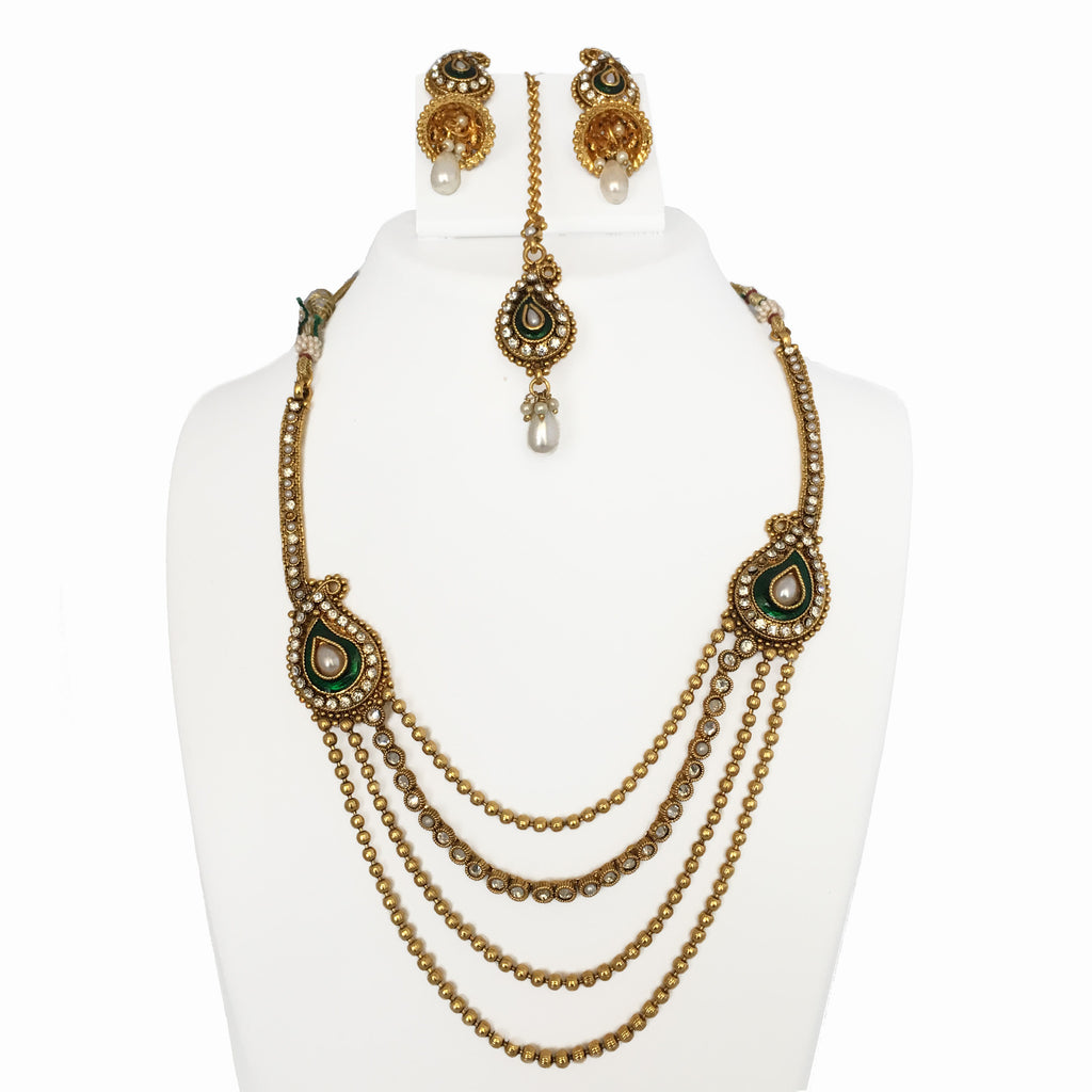 Multi - Chain Necklace Set