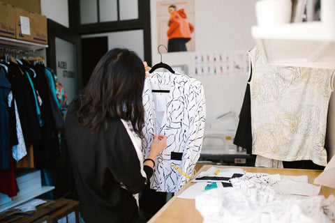 Seattle Fashion Designer Process