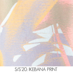 A.Oei Abstract Flower Pastel Print