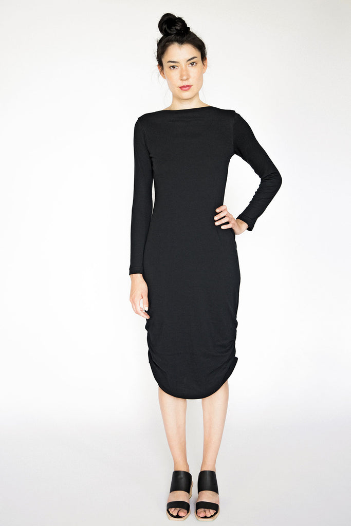 Black Dress Long Sleeve