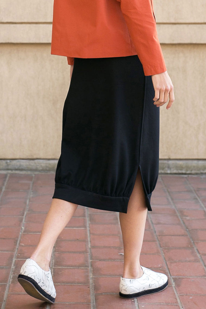 A.Oei Black Knit Skirt