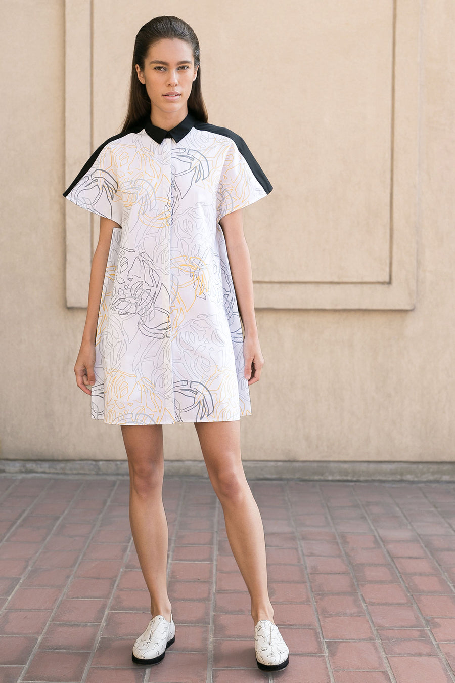 White Shirtdress by A.Oei Studio
