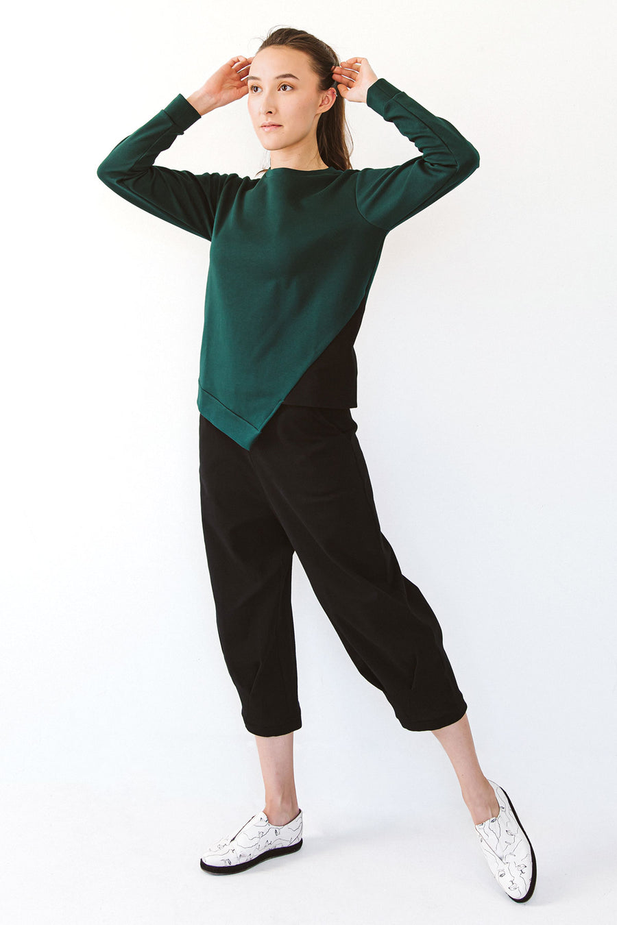 Ladies Green sweater