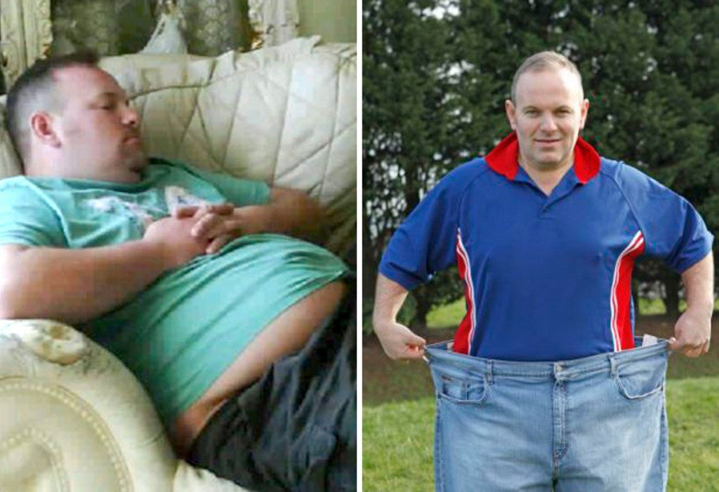 Super Slimmer Took the Plunge After He Weighed Down Flume