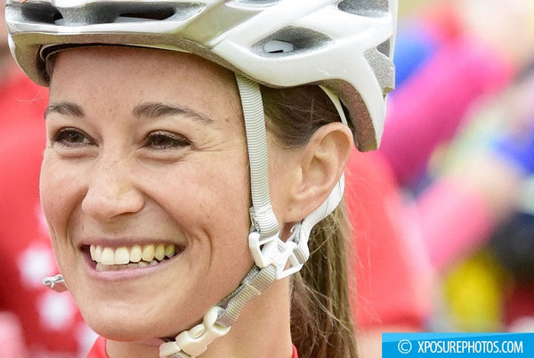 Pippa Middleton crosses the finish line AGAIN! Prince William's sister-in-law is full of joy as she completes Kenya marathon in the sweltering heat