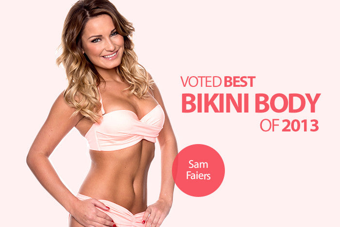 TOWIE's Sam Faiers Named Best Bikini Body 2013