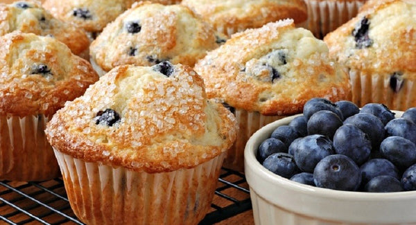Blueberry muffins for dieters