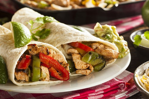 Super Quick Chicken Fajita's