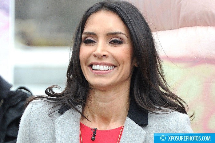 Christine Bleakley doesn't let wedding stress get the better of her