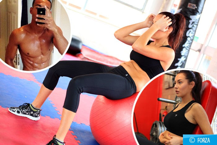 """I want to get a body as ripped as my footballer lover"": Celebrity Big Brother star Chloe Goodman goes on ten week body blitz to get a six-pack and perfect bikini body"