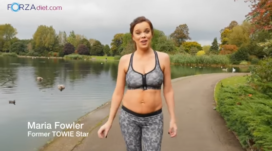 VIDEO: Maria Fowler's Post Baby Blitz With Forza Shake It Slim
