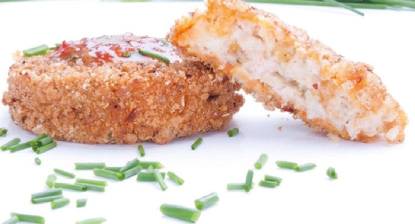 Meal of the Week - Salmon Cakes with Dill Sauce