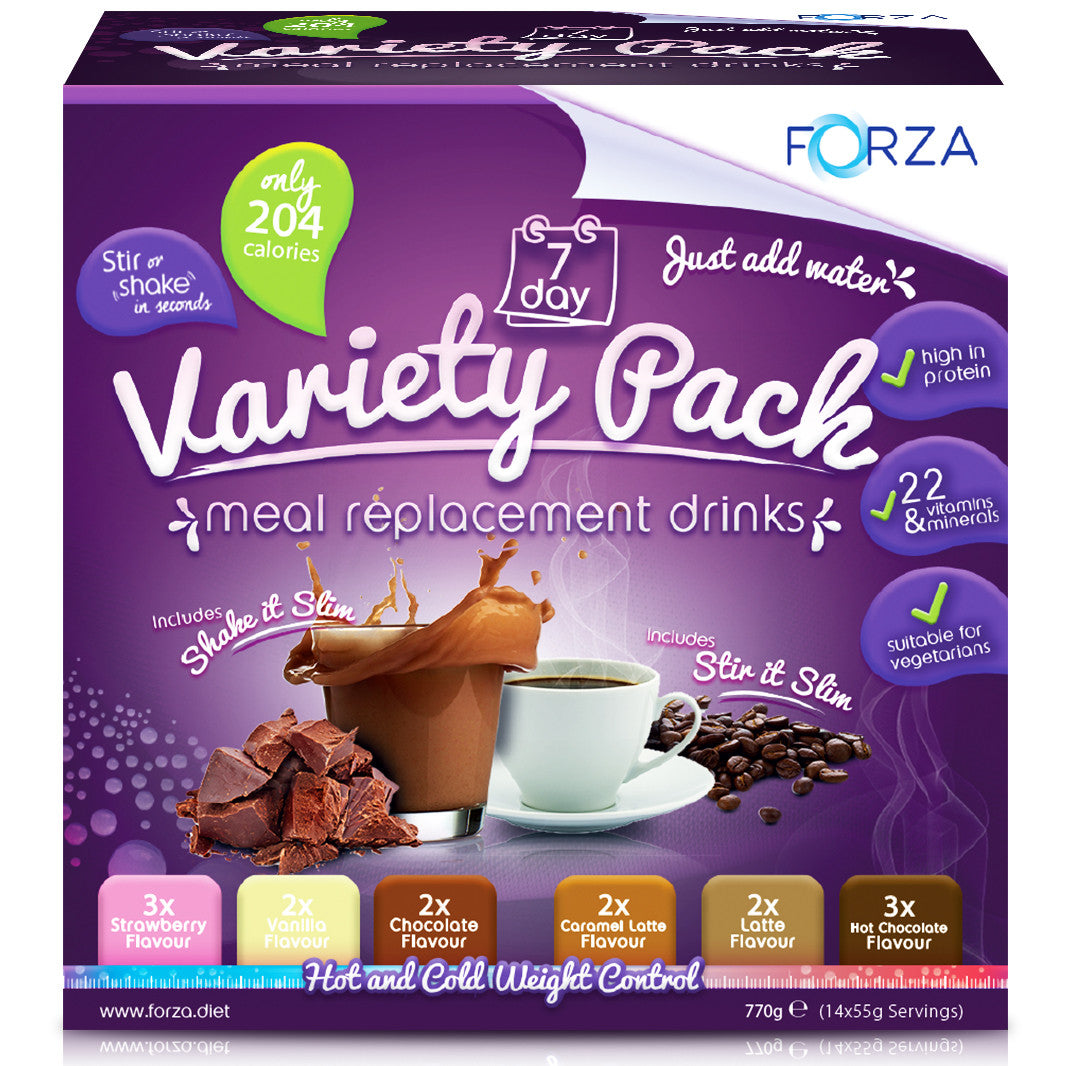 FORZA Launches Meal Replacement Variety Pack