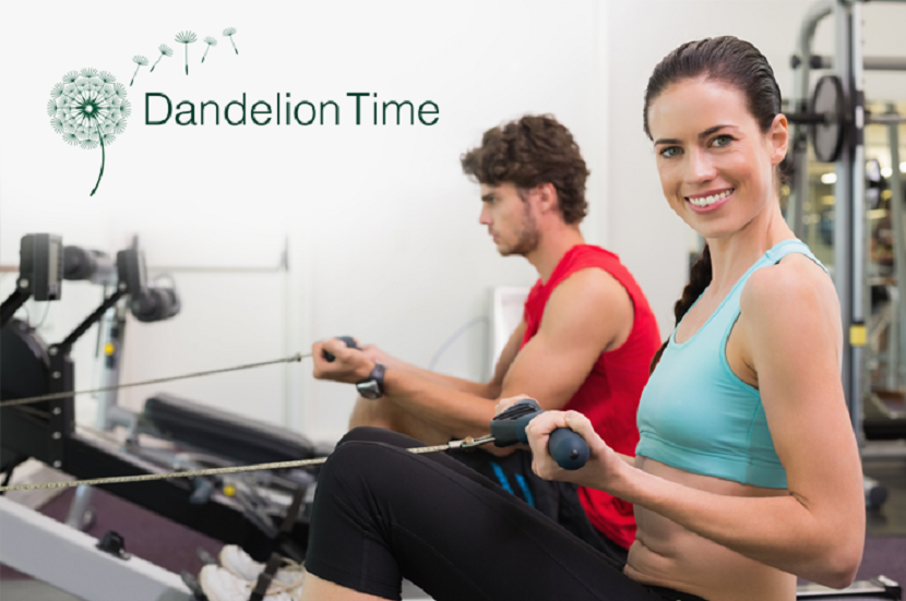 Dandelion time workout at the gym