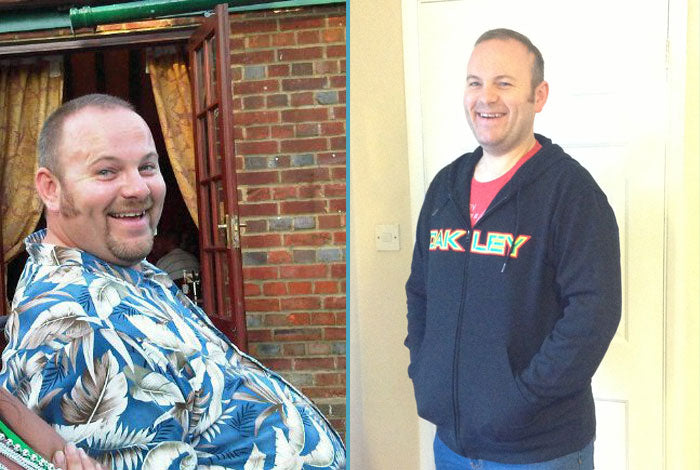 Dad-of-three Pete Cavender lose over seven stone, before and after transformation