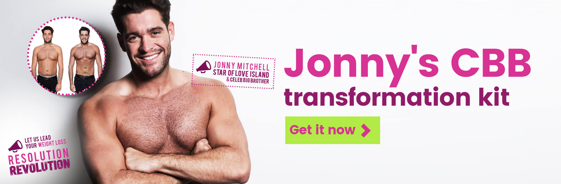 Celebrity Big Brother Star Jonny Mitchel Weight Loss