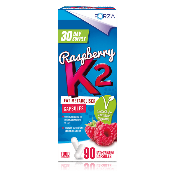 New! FORZA Raspberry K2 Fat Metaboliser - FORZA Supplements