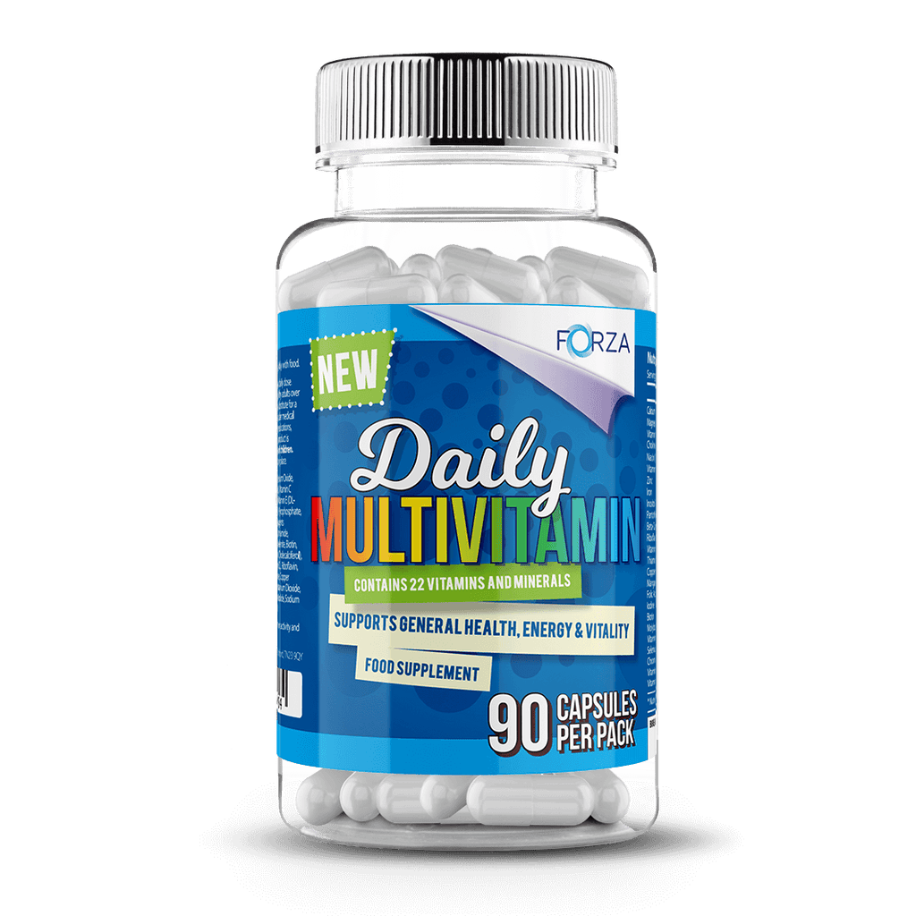 Best Multivitamin For Men >> Forza Daily Multivitamin 90 Capsules