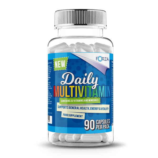 Past Best FORZA Daily Multivitamin – 90 Capsules BBE 11/2020
