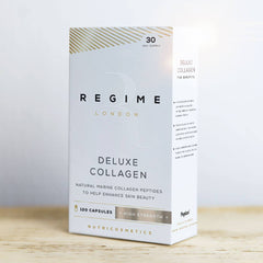 REGIME London Deluxe Collagen - High Strength Collagen Supplements - 120 Capsules - FORZA Supplements