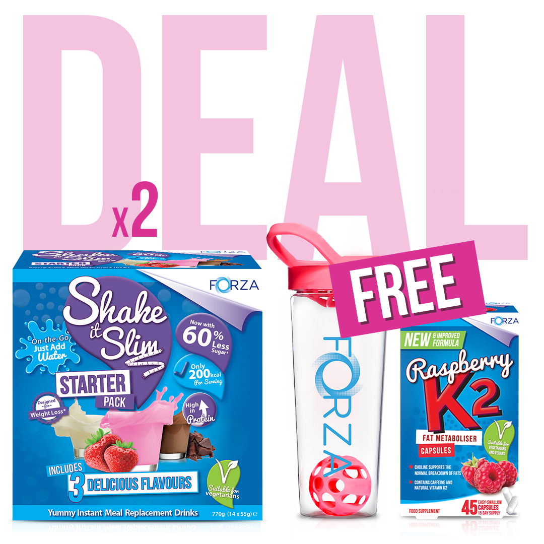 Shake It Slim Starter Kit - Weight Loss Bundle