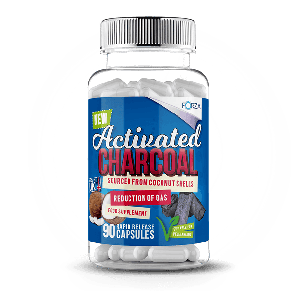 FORZA Activated Charcoal Supplement 90 - FORZA Supplements