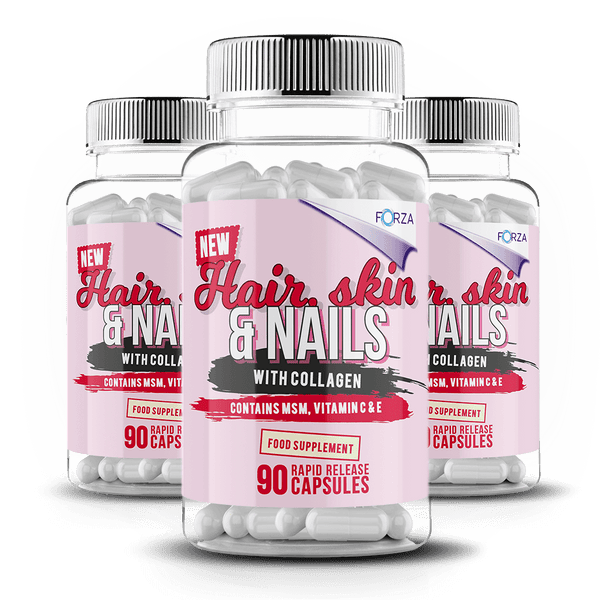 FORZA Hair, Skin & Nails - Three Month Supply - FORZA Supplements