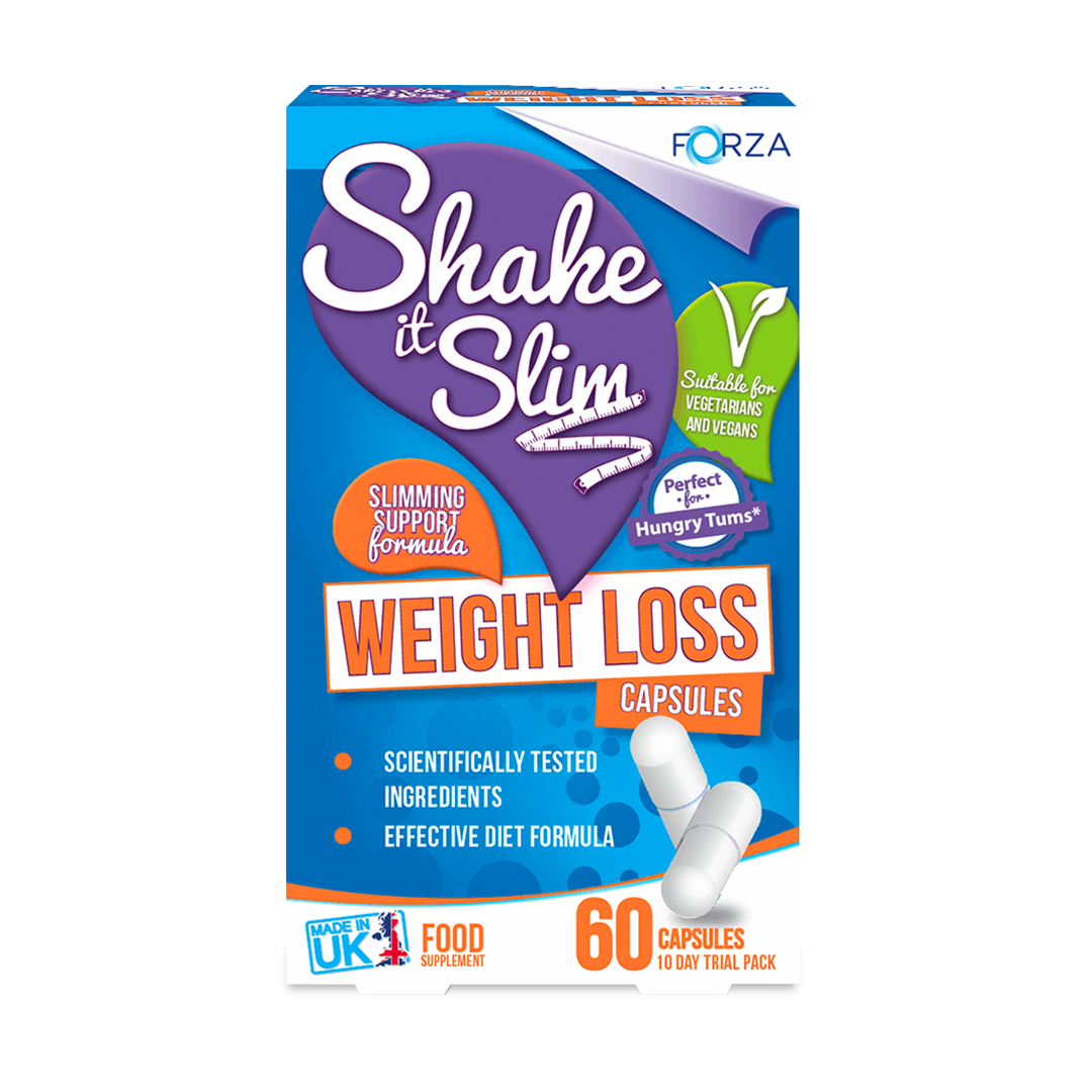 FORZA Shake It Slim Weight Loss Capsules - BBE 10/2019