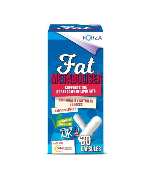 Past Best FORZA VitaCholine Fat Metaboliser 30 Capsules - 02/21