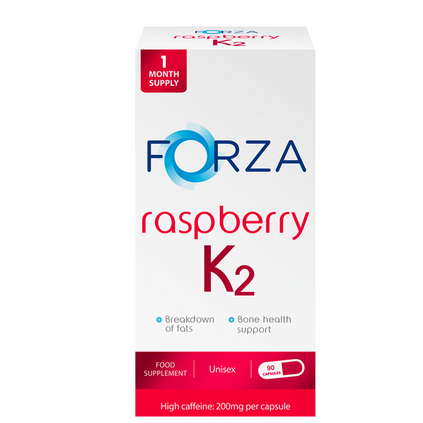 FORZA Raspberry K2 - Bestselling Raspberry Supplements - BBE 06/2020