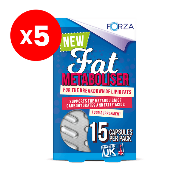 FORZA Fat Metaboliser 15 Capsules - Bundle of 5