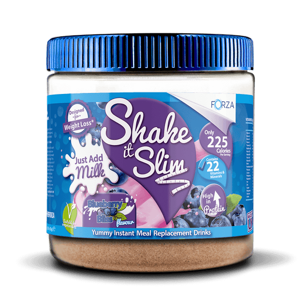 FORZA Shake It Slim Just Add Milk - Best Meal Replacement Shakes - 350g