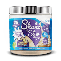 FORZA Shake It Slim Just Add Milk - Best Meal Replacement Shakes - 350g - FORZA Supplements