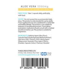 FORZA Aloe Vera - 90 Capsules - FORZA Supplements