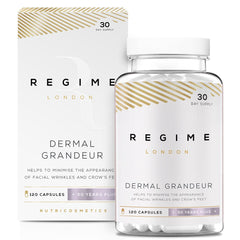REGIME London Dermal Grandeur - MSM Supplement - 120 Capsules - FORZA Supplements