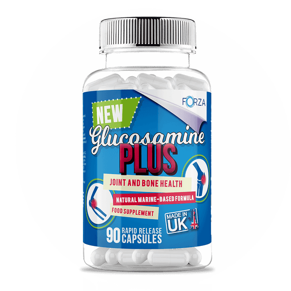 FORZA Glucosamine Plus - Joint, Bone Health & Arthritis Relief - 90 Capsules - FORZA Supplements
