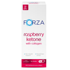 FORZA Raspberry Ketone with Collagen 100 Capsules - FORZA Supplements