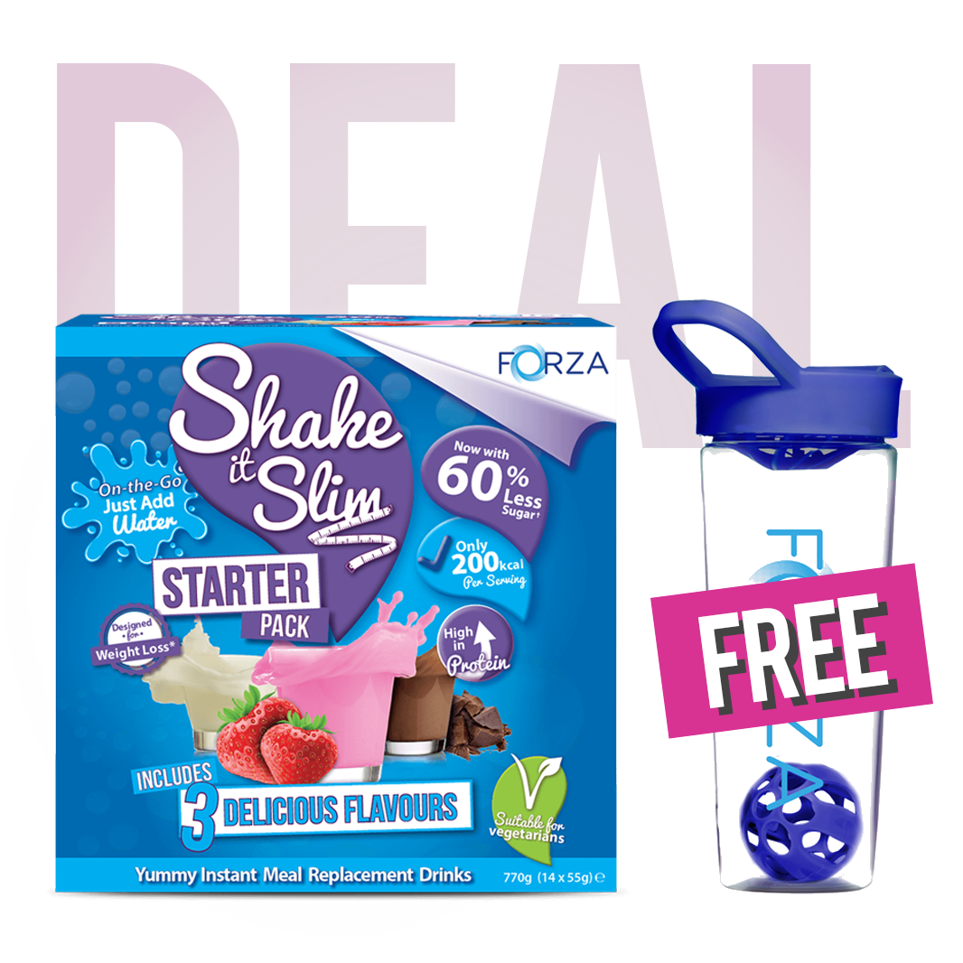 FORZA Shake it Slim Starter Pack & FREE Shaker Bundle - FORZA Supplements
