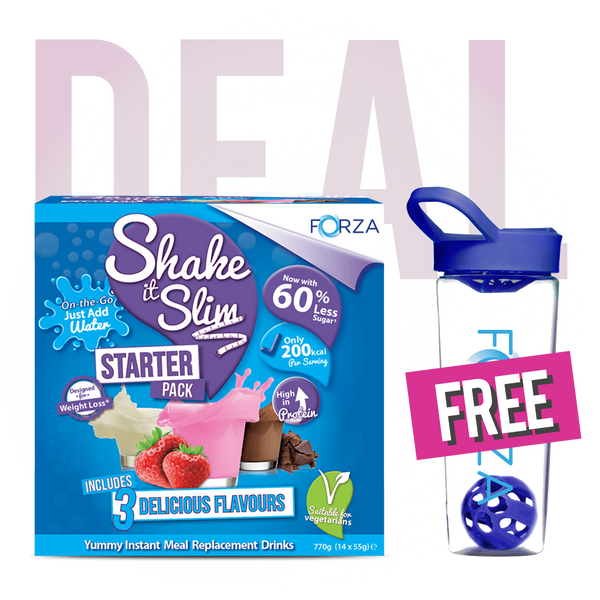 FORZA Shake it Slim Starter Pack & FREE Shaker Bundle