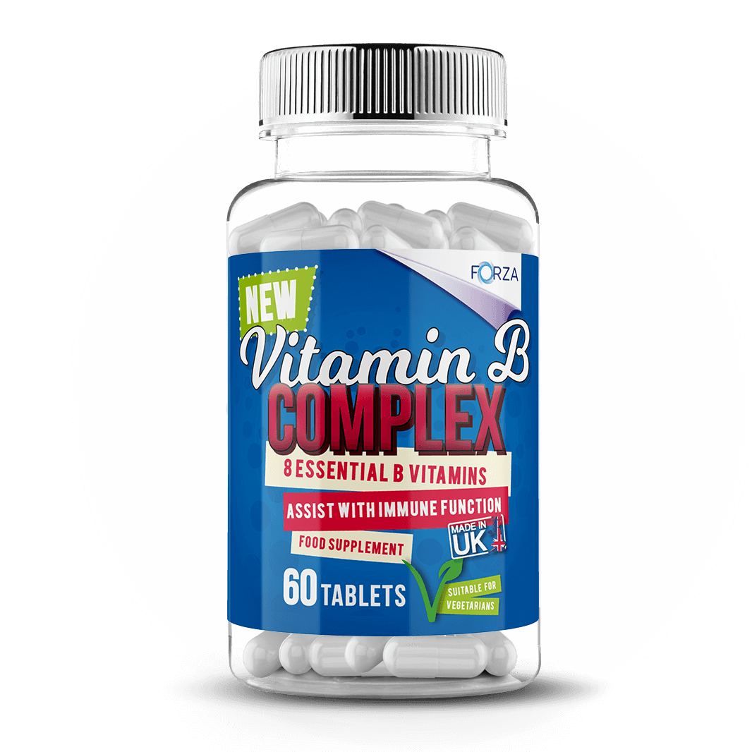 FORZA Vitamin B Complex - 60 Tablets - FORZA Supplements