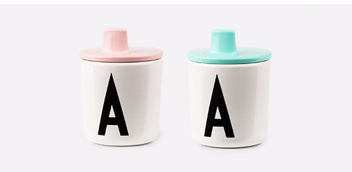 Design Letters Drink Lid for Melamine Cup