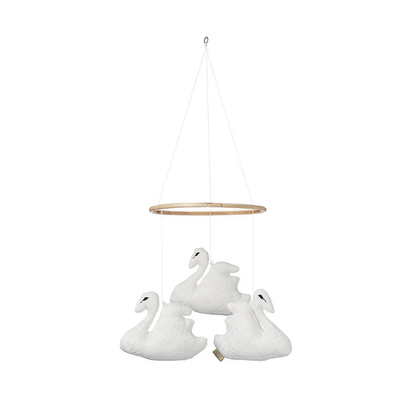 CAM CAM Swan Mobile White