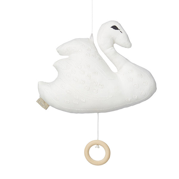 CAM CAM Swan Musical Mobile White
