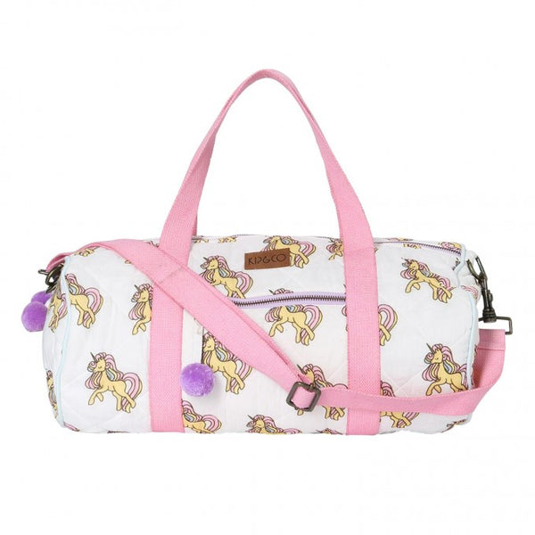 UNICORN QUILTED DUFFLE BAG