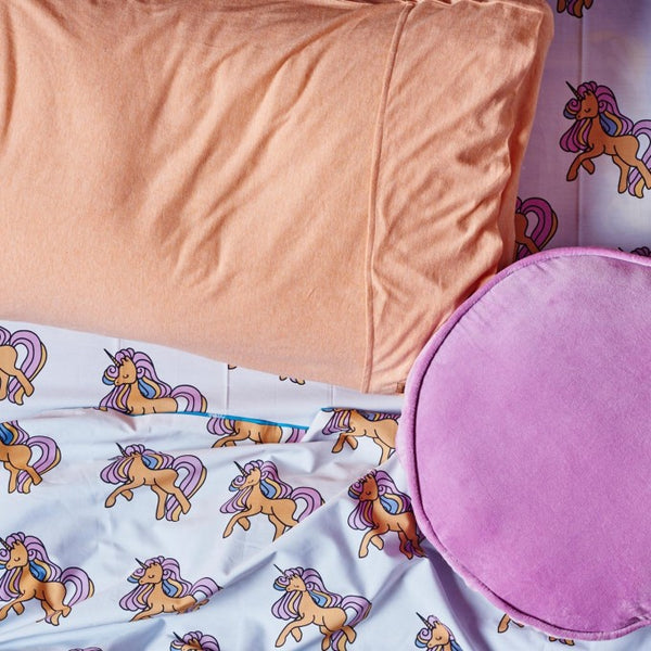 UNICORN COTTON FITTED SHEET - Single